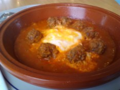 School tagine--really not bad. Actually rather good. Definitely would eat often.
