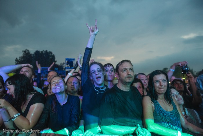 Found myself on Balkan Rock! This is my smile when I see the Cure with lovely new friends.