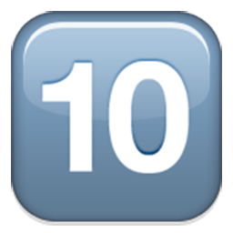 Keycap Ten Emoji