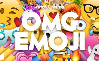 OMG Emoji Flyer