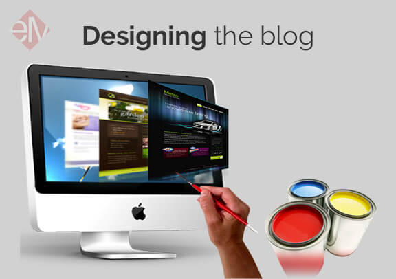 Designing the blog