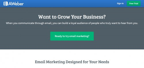 AWeber Email Marketing Service
