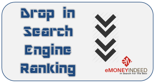 Drop in Search Engine Ranking of Your Site - Reasons and Fixes