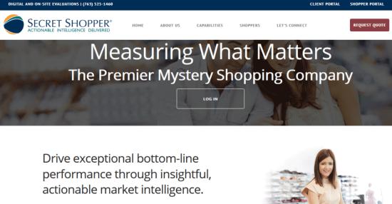 Secret Shopper Jobs
