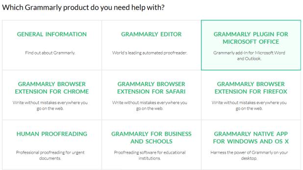 grammarly customer service