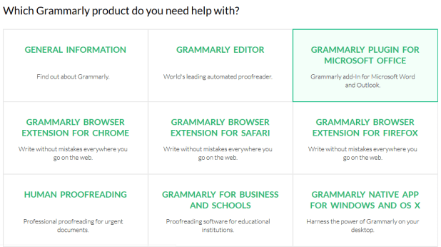 Grammarly Customer Support