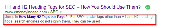 how manyh1 h2 h3 h4 tags per page for seo