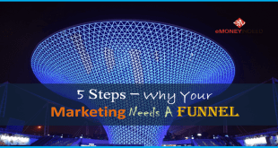 5 Steps - Why Your Marketing Needs A Funnel