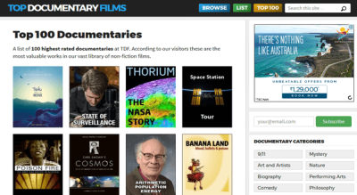 Top 100 Documentaries - Top Documentary Films