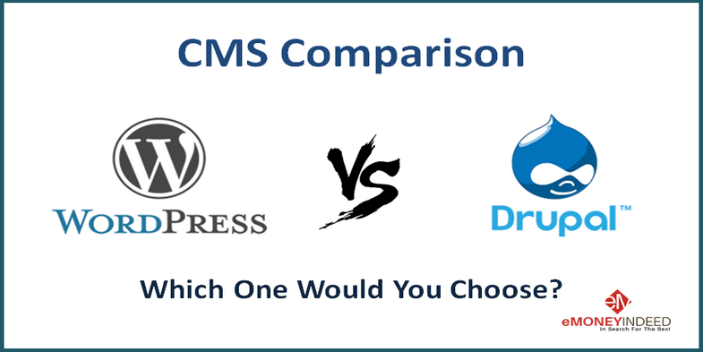 CMS Comparison WordPress vs Drupal – A Guide