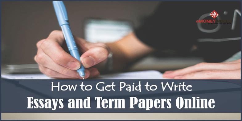 paid to write essays