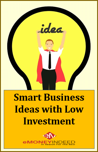 Smart business ideas with low investment and high profit