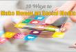 10 Ways to Make Money on Social Media