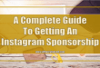 A Complete Guide to Getting Instagram Sponsorships