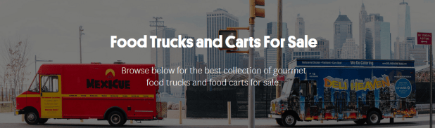 Food Trucks for Sale - Roaming Hunger