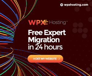 WPX Website Hosting WordPress