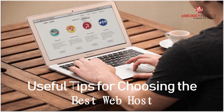 Tips for Choosing the Best Web Host