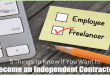 5 Things to Know If You Want to Become an Independent Contractor