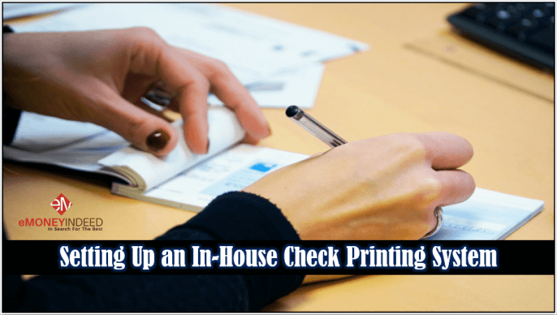 In-House Check Printing System