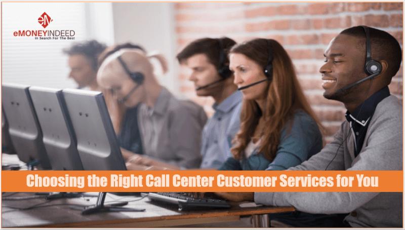 call center customer services