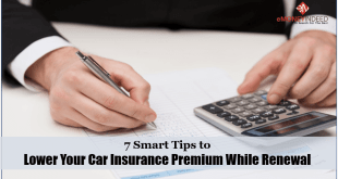 Tips to Lower Your Car Insurance Premium While Renewal