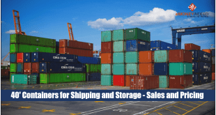 40 Foot Containers for Shipping and Storage - Sales and Pricing