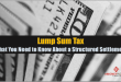 lump sum tax