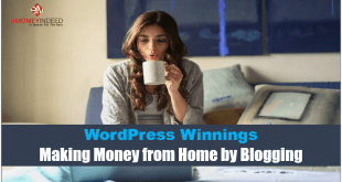 Making Money from Home by Blogging