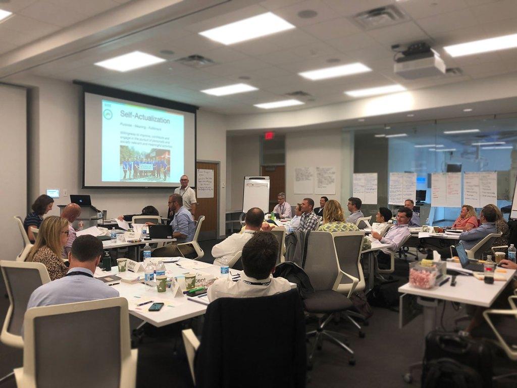 Emotional intelligence leadership training