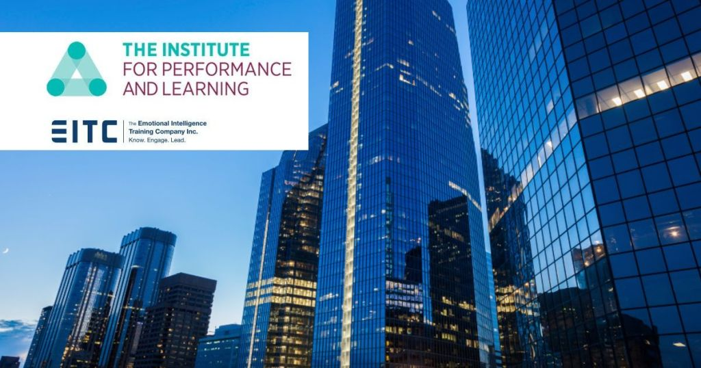 Institute for Performance and Learning, Calgary skyline.