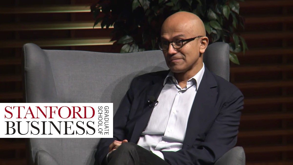 Satya Nadella, CEO of Microsoft, talks empathy and business