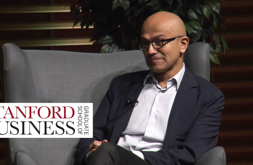 Satya Nadella, CEO of Microsoft, talks empathy and business