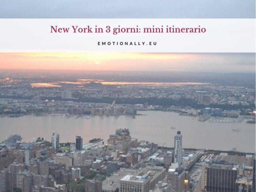 Intro: È il tuo primo viaggio a New York e sei riuscito a prenotare solo per un weekend? Anche se ti sembrerà impossibile, potrai comunque goderti le attrazioni principali della città. Scopriamo cosa vedere a New York in 3 giorni! Quando pensi a New York, immagini una città cosmopolita, immensa, colorata e con tantissime cose da vedere. Hai sognato di vederla tante volte, guardando le tue serie tv preferite e finalmente, è arrivato il momento giusto per prenotare il viaggio in America. Ti avevo già elencato i luoghi di interesse e i tour imperdibili, ma purtroppo, la nota dolente è che hai solo un weekend. Cogliere ogni aspetto dei cinque quartieri in così poco tempo è davvero un'impresa impossibile! Non disperare, pensa che persino i residenti scoprono qualcosa di nuovo ogni giorno! Continua a leggere e scoprirai il mini itinerario pensato per sfruttare al massimo il tuo tempo e vivere a pieno New York in 3 giorni. Primo giorno: Midtown Manhattan Midtown Manhattan, nota brevemente come Midtown, è il fulcro della città di New York, il suo cuore pulsante. Questa zona è quella del business ed è anche la più turistica e trafficata della città: imponenti grattacieli, la Gran Central Station, l'Empire e Times Square sono solo alcune delle attrazioni da vedere. Cosa fare a Midtown? Vedere lo Skyline New York City è definita dal suo skyline: la silhouette creata dagli edifici di Manhattan è a dir poco iconica. Per vederla al meglio, sali agli osservatori dell'Empire State Building e del Top of the Rock del Rockefeller Center. Dopo aver ammirato questo spettacolare panorama dalla cima di un grattacielo, potresti desiderare un punto di osservazione a terra per una prospettiva grandangolare su Lower e Midtown Manhattan. Scoprirai nel terzo giorno di questo itinerario, che quando attraverserai il Ponte di Brooklynavrai una vasta scelta di punti di vista dal Brooklyn Bridge Park e dalla Brooklyn Heights Promenade. Passeggiare per Times Square Times Square è il punto di New York