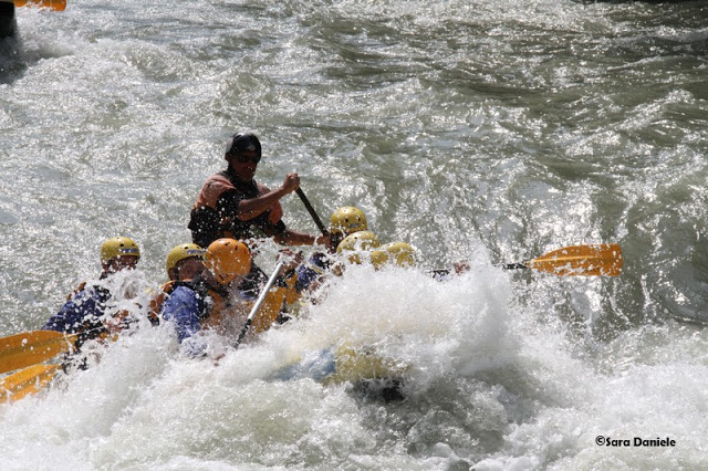 Dove fare rafting Trentino