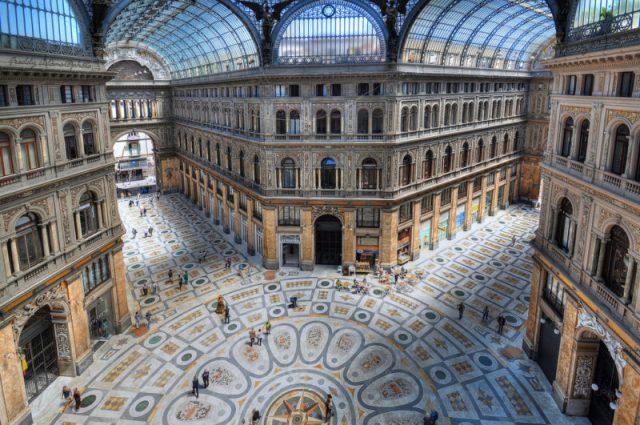 Cosa vedere a Napoli Galleria Umberto I