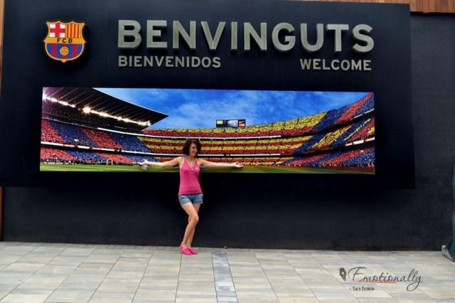 Visita Camp Nou