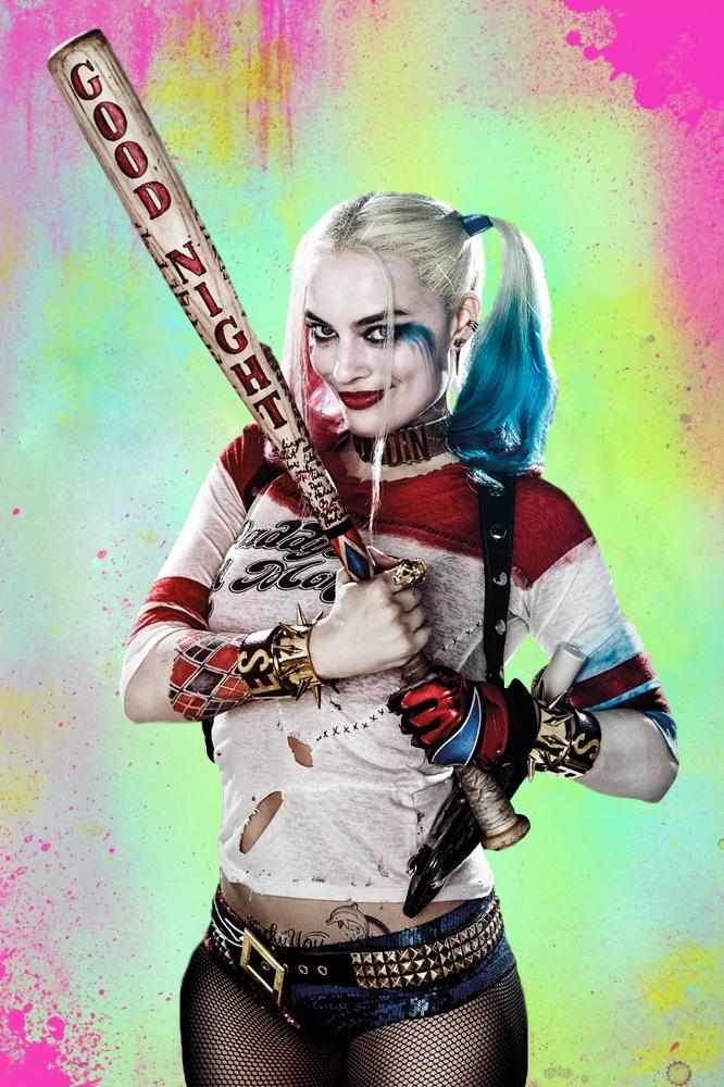 Harley_Quinn_Good_Night_Poster