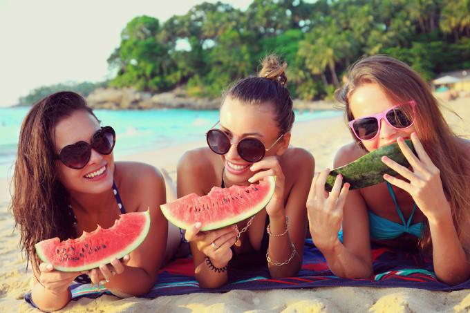 amigas-praia