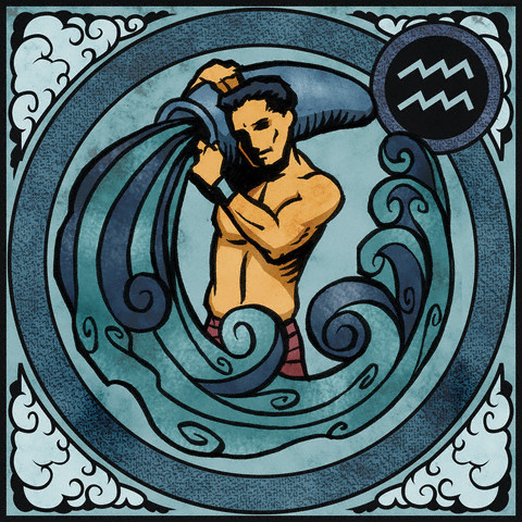 Aquarius --- Image by © Harry Briggs/Corbis