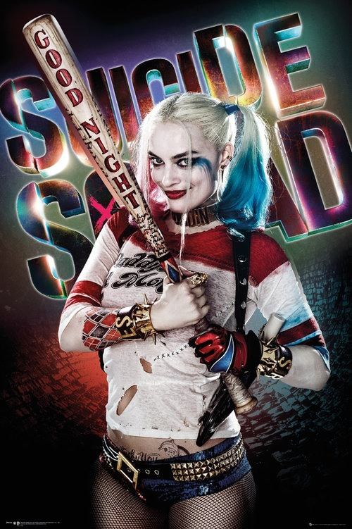 suicide-squad-harley-quinn-poster