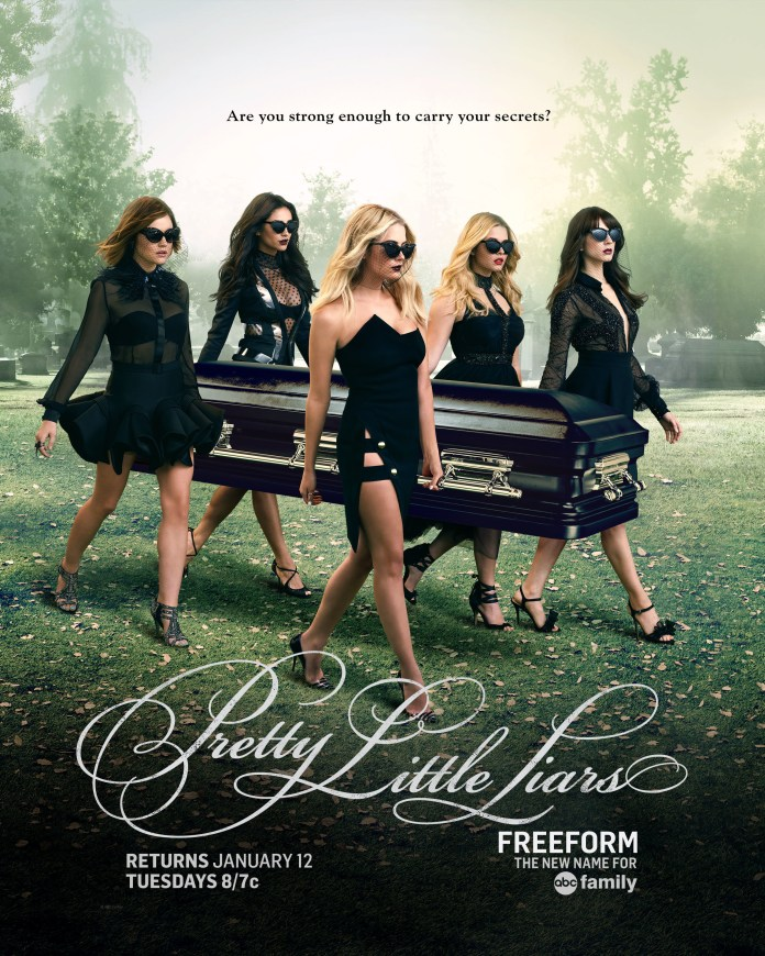 """PRETTY LITTLE LIARS - """"Pretty Little Liars"""" premieres January 12 at 8/7c on Freeform, the new name for ABC Family. (ABC Family)"""