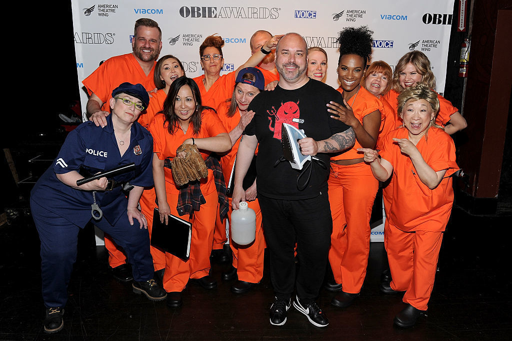 "NEW YORK, NY - MAY 23:  The cast of ""Orange is the New Black"" poses backstage at the 61st Annual Obie Awards at Webster Hall on May 23, 2016 in New York City.  (Photo by Craig Barritt/Getty Images for American Theater Wing)"