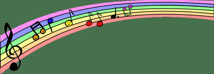 rainbow-notes