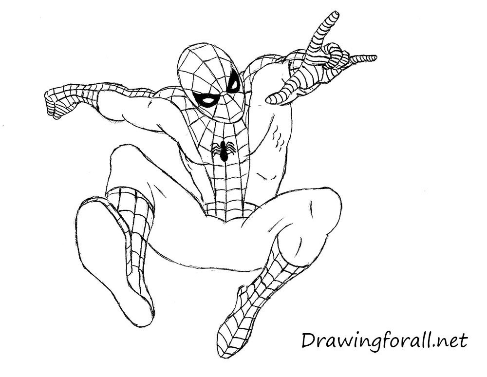 11-how-to-draw-the-amazing-spider-man