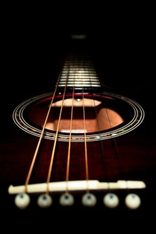 Black-guitar-cell-phone-wallpapers