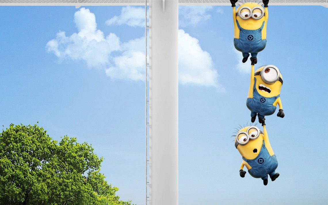 Minions-Hanging-Desktop-background-1920-1200