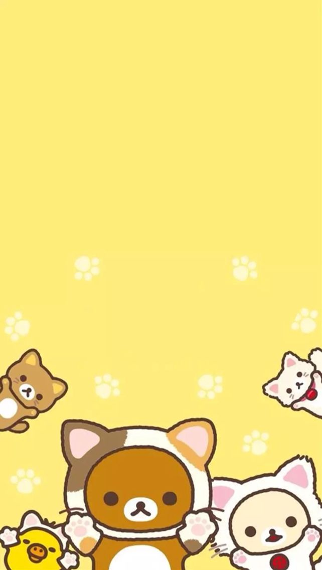 c2c2487b92203965dd66f1c5b72297fe--wallpaper-kawaii-rilakkuma-wallpaper