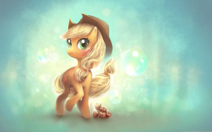 my_little_pony_applejack_4k-wide