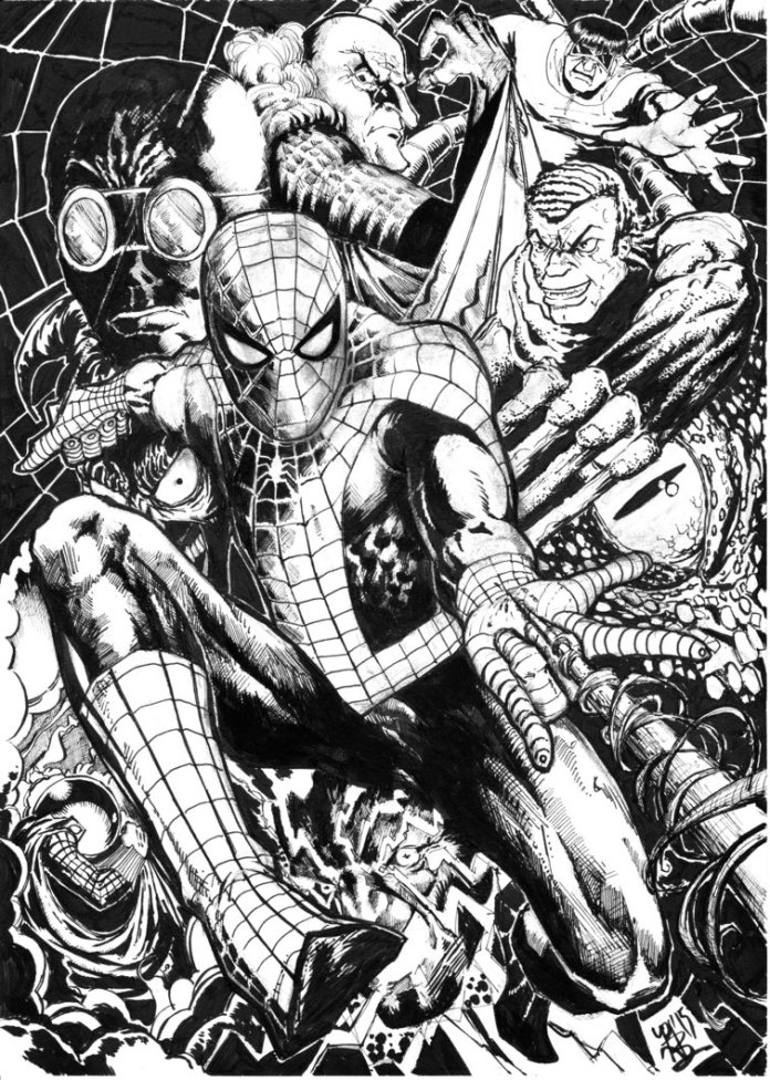 spiderman_villains_by_pjbhavsar-d8omhqb