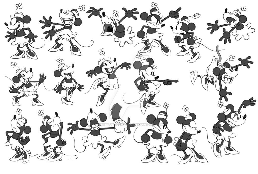 Desenhos Da Minnie Para Colorir